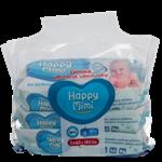 Happy Mimi Dětské vlhčené ubrousky 99% vody 180ks