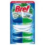 Bref Duo-Aktiv Northern Pine tekutý WC blok 3 x 50ml