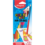 Maped Color' Peps Duo pastelky 24 barev