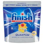 Finish Powerball Quantum Lemon Sparkle tablety do myčky nádobí 36 ks 558g