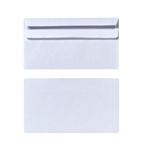Obálky DL samolepicí bílé (25ks/fol)