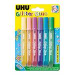 UHU Glitter Glue Shiny (6ks/bli)
