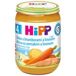 HiPP Mrkev s bramborami a lososem 190 g