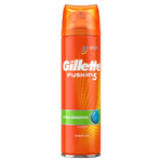 Gillette Fusion5 Ultra Sensitive Pánský Gel Na Holení 200 Ml
