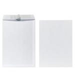 Obchod.tašky C4 bílé,samolep(10ks/sac)