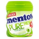 Mentos Pure fresh dražovaná žvýkačka s tekutou náplní s limetkovo-mentolovou příchutí 40 ks 60g