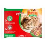 Propesko Kompletní krmivo pro dospělé kočky 4 x 100g