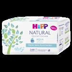 HiPP Babysanft Čistící vlhčené ubrousky  Natural Aqua 2x60 ks