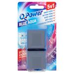 Q-Power Tuhý blok do nádržky WC Blue Water 2 ks