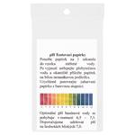 pH testovací papírky 10 ks