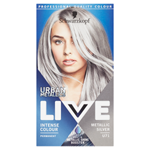 Schwarzkopf Live Urban Metallics barva na vlasy Metalic Silver U71