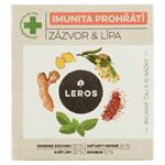 Leros Imunita prohřátí zázvor & lípa bylinný čaj aromatizovaný 10 x 2g (20g)