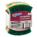 Q-Home Houbička antibakteriální 2ks