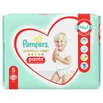 Plenkové Kalhotky Pampers Premium Care Velikost 5, 34 Kusů, 12kg-17kg