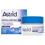 Astrid Hyaluron 3D noční krém proti vráskám + zpevnění pleti 50ml