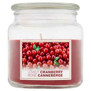 Svíčka lovely cranberry