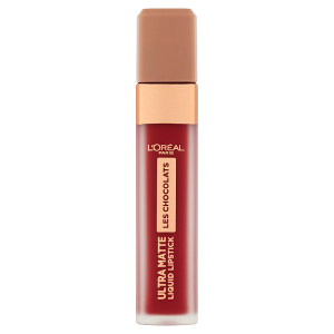 L'Oréal Paris Les Chocolats Ultra Matte 864 Tasty Ruby rtěnka 7,6ml