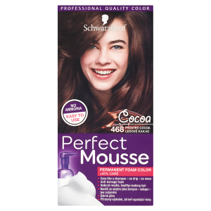 Schwarzkopf Perfect Mousse barva na vlasy Ledové Kakao 468
