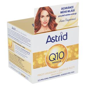 Astrid Q10 Miracle Denní krém proti vráskám 50ml