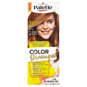 Schwarzkopf Palette Color Shampoo barva na vlasy Oříškově Plavý 317
