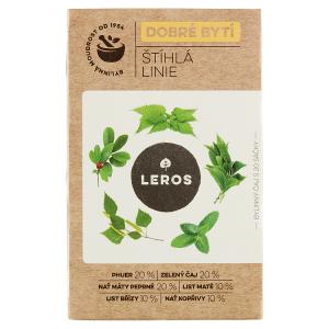 Leros Dobré bytí štíhlá linie bylinný čaj 20 x 1,5g (30g)