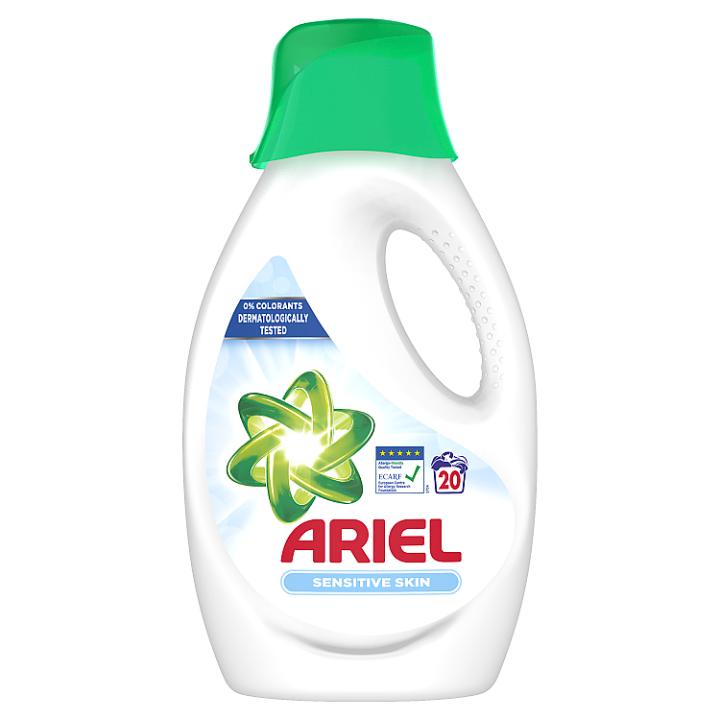 Ariel Sensitive Tekutý Prací Prostředek 1.1l, 20 Praní