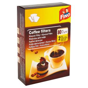 Fino Kávové filtry 2 velikost 80 ks