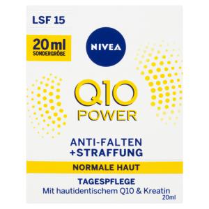 Nivea Q10 Power Zpevňující denní krém proti vráskám OF 15 20ml