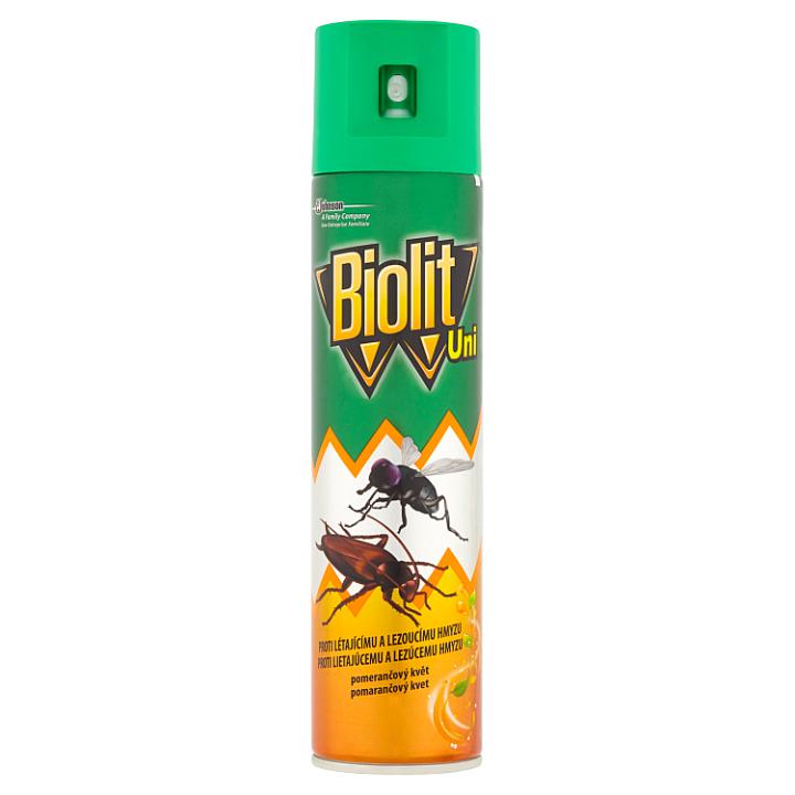 Biolit Proti létajícímu a lezoucímu hmyzu pomerančový květ 400ml
