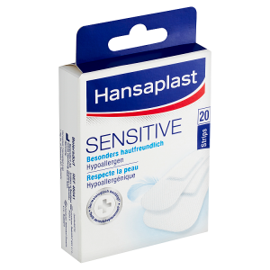 Hansaplast Sensitive Náplast 20 ks