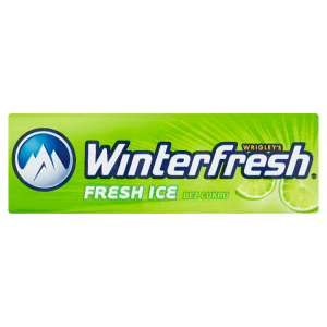 Wrigley's Winterfresh Fresh Ice bez cukru 10 ks 14g