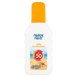 Helios Herb Sprej na opalování OF 50 200ml