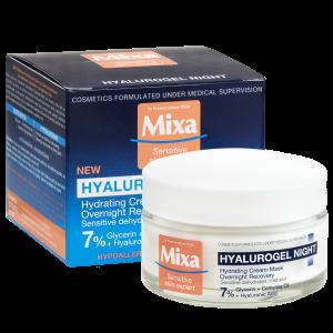 MIXA Hyalurogel Night intenzivní noční hydratační péče, 50ml