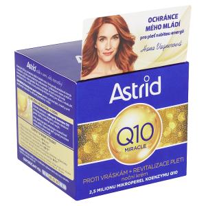 Astrid Q10 Miracle Noční krém proti vráskám 50ml