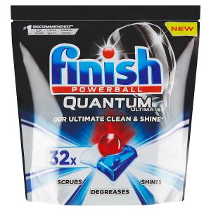 Finish Quantum Ultimate Kapsle do myčky nádobí 32 ks 400g