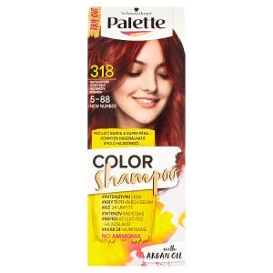 Schwarzkopf Palette Color Shampoo barva na vlasy Intenzivní Červený 318