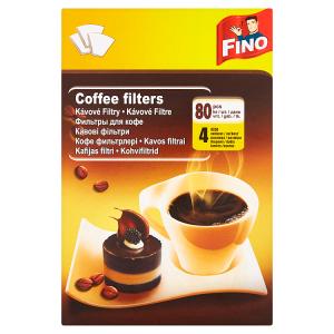 Fino Kávové filtry 4 velikost 80 ks