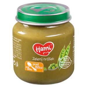 Hami zeleninový příkrm Zelený hrášek první lžička 125g
