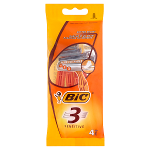 Bic 3 Sensitive Holicí strojek se 3 břity 4 ks