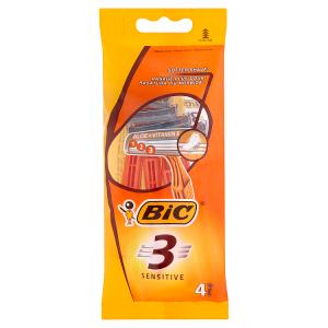 Bic 3 Sensitive Holicí strojek se 3 břity 4 ks