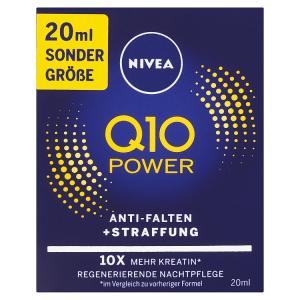 Nivea Q10 Power Zpevňující noční krém proti vráskám 20ml