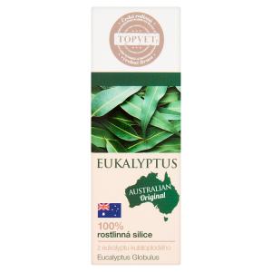 Topvet 100% rostlinná silice z eukalyptu kulatoplodého 10ml