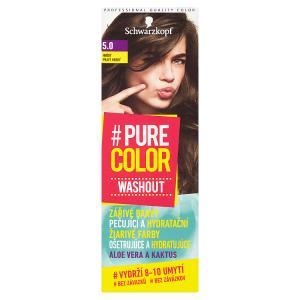 Schwarzkopf Pure Color Washout barva na vlasy Hnědý 5.0