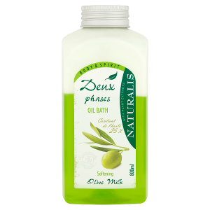 Naturalis Dvousložková pěna do koupele zvláčňující olive milk 800ml