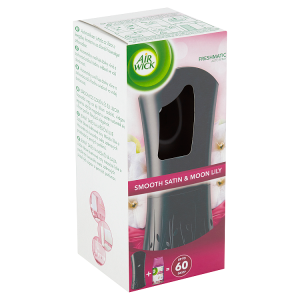 Air Wick Freshmatic Difuzér a náplň do osvěžovače vzduchu Smooth Satin & Moon Lily 250ml
