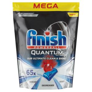 Finish Powerball Quantum Ultimate tablety do myčky nádobí 65 ks 812,5g