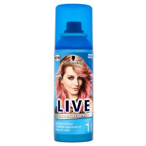 Schwarzkopf Live Colour Spray Candy Pink 120ml
