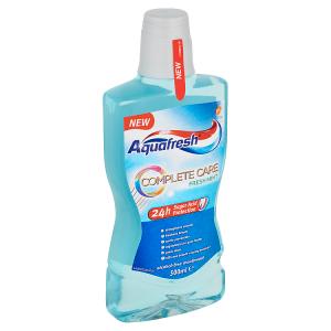 Aquafresh Complete Care Fresh mint ústní voda 500ml