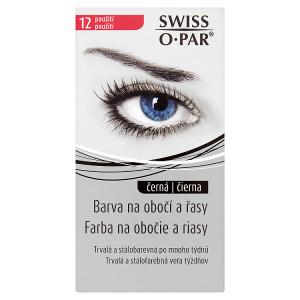 Swiss O Par Barva na obočí a řasy černá 12 použití