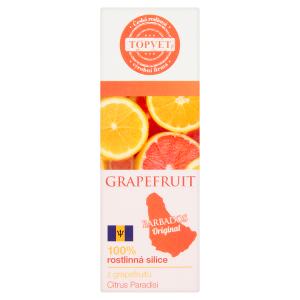 Topvet 100% rostlinná silice z grapefruitu 10ml